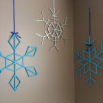 popsicle snowflake decorations